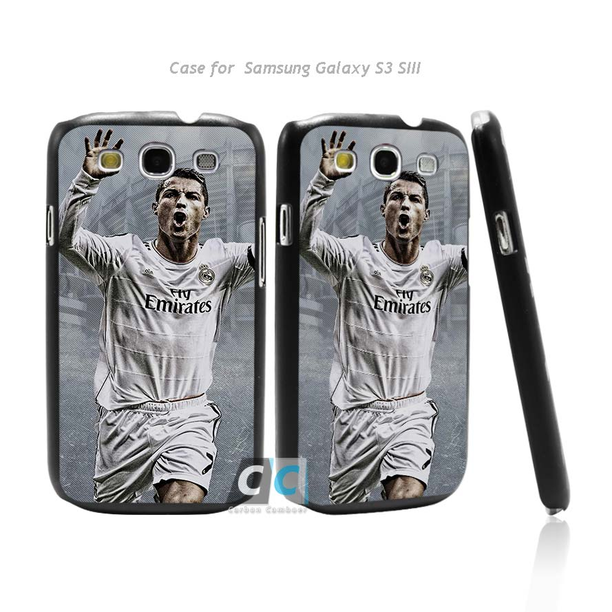 Cool Cristiano Ronaldo CR7 Love Football Hard Black Case Cover for Samsung Galaxy s3 s4 s5 mini s6 s7 edge plus +(China (Mainland))