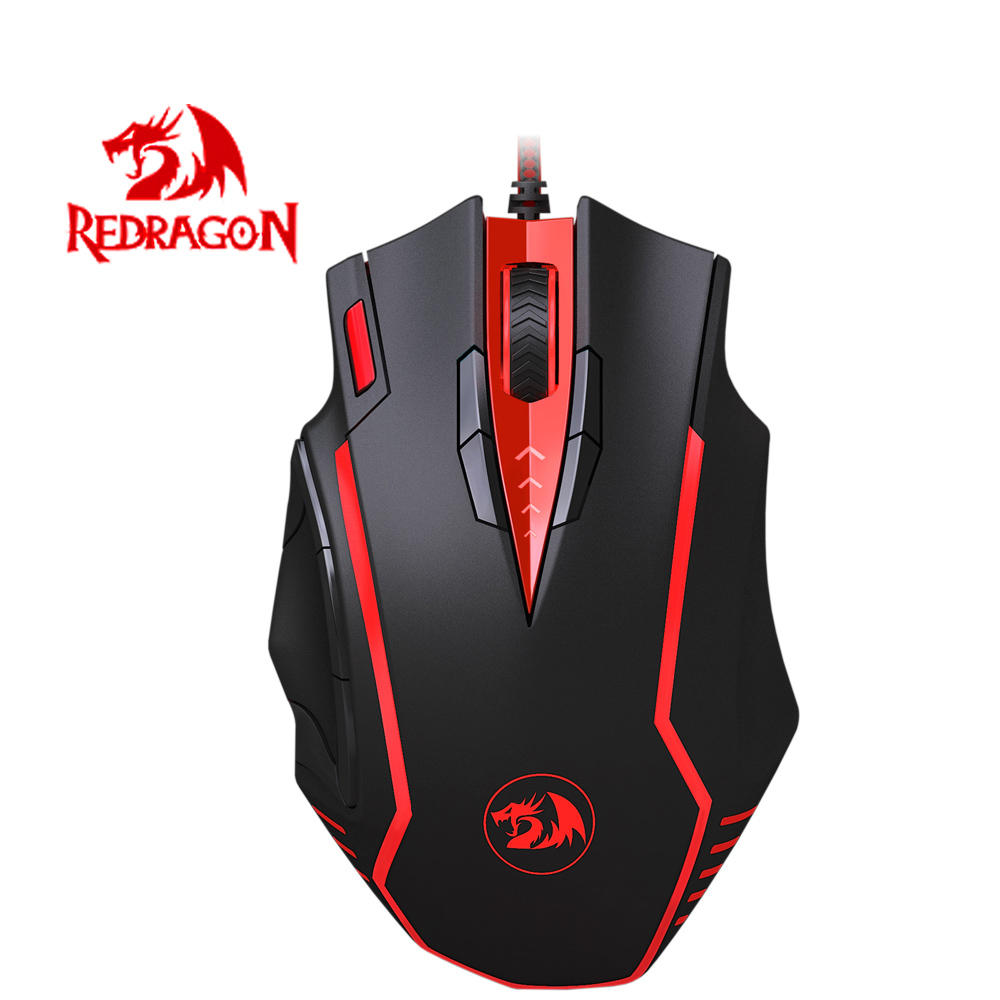Professional Redragon Gaming Mouse Samsara M902 16400DPI Adjustable Wired Optical Computer Mouse Specially for E-sports Games(China (Mainland))