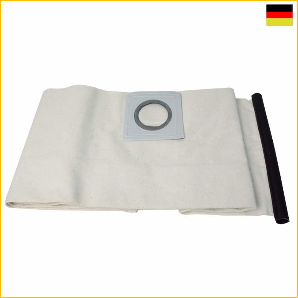 High quality New 1 PCS For KARCHER VACUUM CLEANER Cloth DUST Filter BAGS WD3200 WD3300 WD Fit A2204/A2656/WD3.200/SE4001/MV1/MV3(China (Mainland))