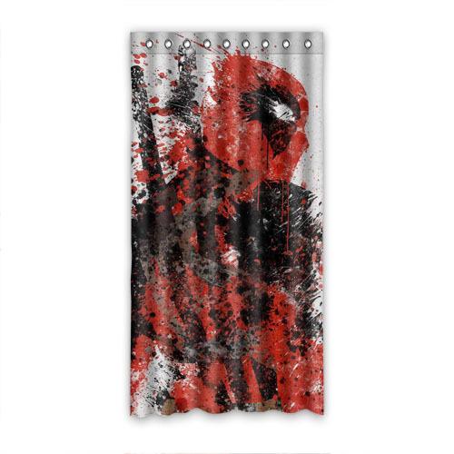 Commande dr le rideau de la fen tre design deadpool 50 x for Fenetre de commande