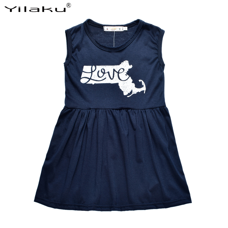 2016 Casual Girls Ruffle Dress Kids Sleeveless Dresses for Girls Clothes Children's Clothing Girl Casual Dresses 2~6 Years CA344(China (Mainland))