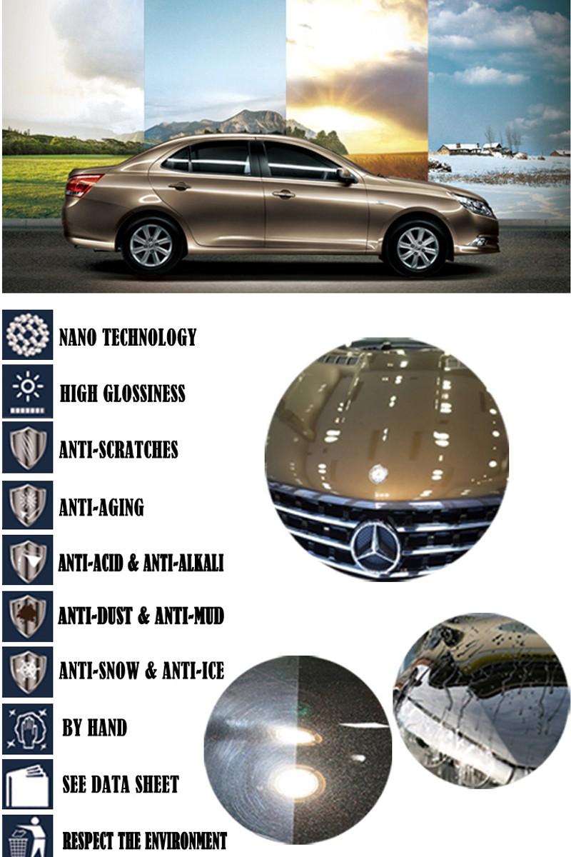 Купить Лакокрасочное покрытие автомобиля охватывает керамические pro жидкое стекло покрытие автомобиля воск мотоцикл краска уход керамическая 9 H покрытие автомобиля краска нуля ремонт