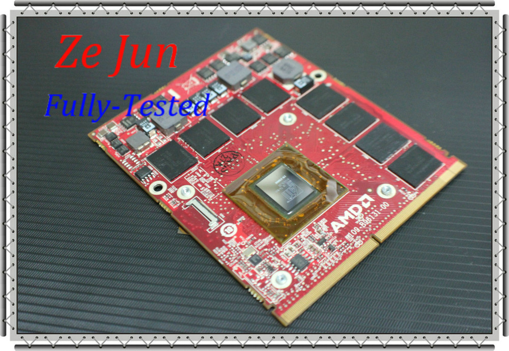fully tested M17x R2 HD5870M graphic card video card computer components laptop parts vga graphics alibaba RV546 RT01J(China (Mainland))