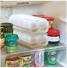 of refrigerator fresh keeping box plastic box storage grid storage rack tray