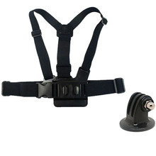 Buy Adjustable Elastic Chest Band Harness Body Strap Belt Tripod Mount base Adapter GoPro Hero 5 4 3+ Xiao Yi SJCAM Camera for $6.99 in AliExpress store