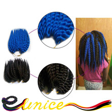 Wholesale 6pcs Quality 14″ Havana Mambo Twist Braiding Hair Extension Synthetic Crochet Twists For Children And Women
