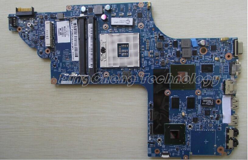 New laptop Motherboard For hp pavilion DV6-7000 DV7-7000 682016-001 for intel cpu with 8 video chips non-integrated graphic card<br><br>Aliexpress