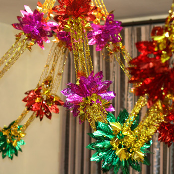 Wedding supplies, the bridal chamber decoration garland