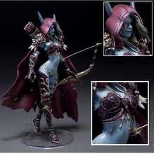 game copy figure anime action WOW figure toy Lich King Alsace Sylvanas Windrunner classic toys for boys