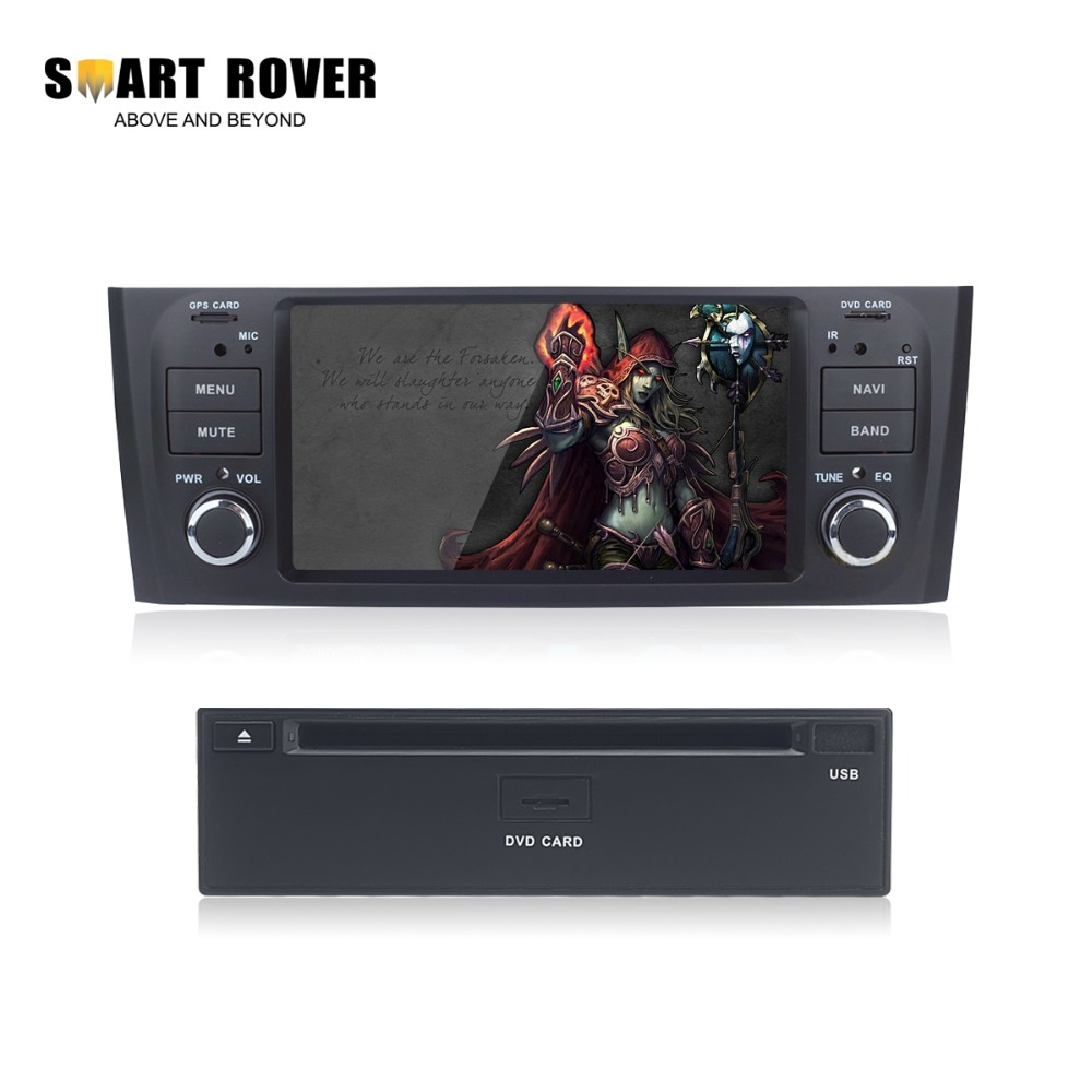 "6.5"" Android 4.4.4 Car PC Audio Video For Fiat Grande Punto Linea 2007 2008 2009 2010 2011 2012 Radio RDS GPS Navi DVD Stereo(China (Mainland))"