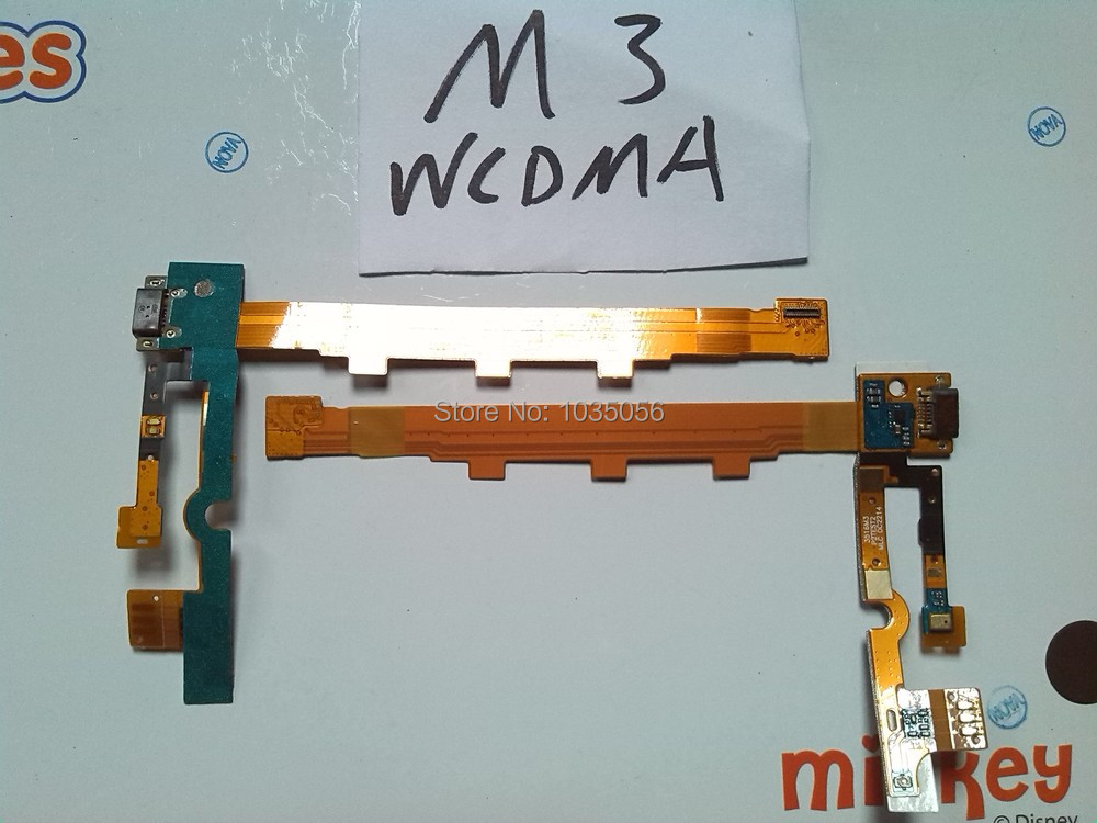 M3 Charging Port Ribbon Replacement Parts For Xiaomi Mi 3 Micro USB Charger Flex Cable ; With Tracking Number