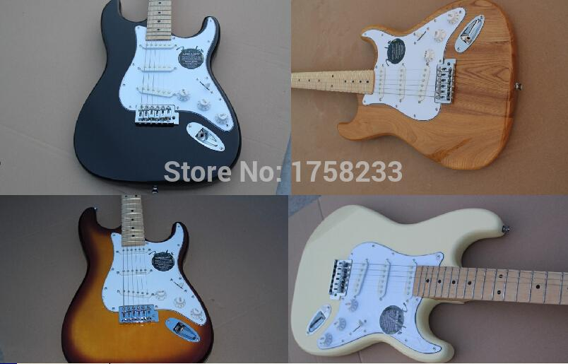 2019 Free Shipping Fen Stratocaster Custom Shop White Signature Electric Guitar Chrome Hardware ST Strat Custom Body(China (Mainland))