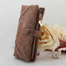 2015 Fashion New High Quality PU Women Wallet Hand Bag Lady Clutch Purse Coin Purse 5