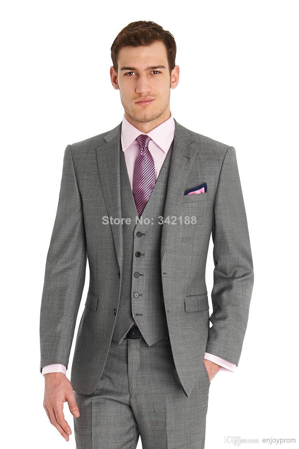 Gray Dress Suit Dress Yy