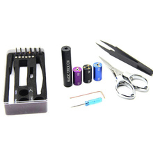 Magic stick CW tool coil wick vap coil jig kit 6 size in 1 wire coiling machine tool koiler kit coil wick e cigarette tool box