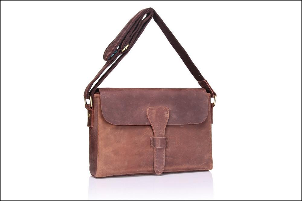 Luxury genuine leather bags for women 2016 vintage fashion shoulder bags unisex messenger bags crazy horse leather bags satchels<br><br>Aliexpress