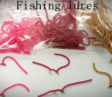 flytying Squirmy Wormies Fishing Lures Fish Bait 1 Pieces =60 legs Free Shipping