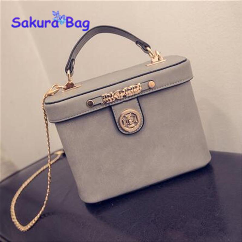 Women handbag 2016 messenger bag fashion mini small box bag shoulder bag handbag chain small bags(China (Mainland))