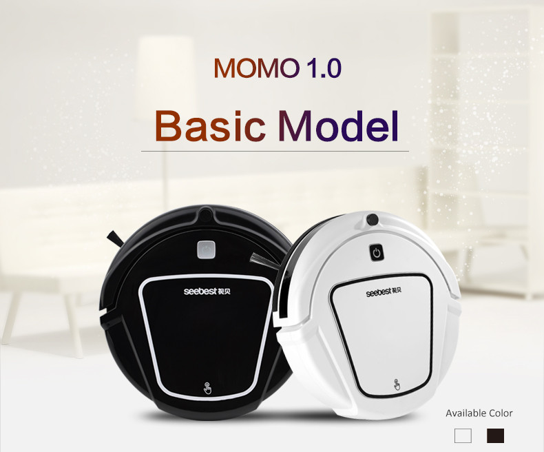 Dry Automatic Rechargeable Sweeping Suction Robot Vacuum Cleaner with remote control Anti fall and collision SeebestD720 MOMO1.0(China (Mainland))