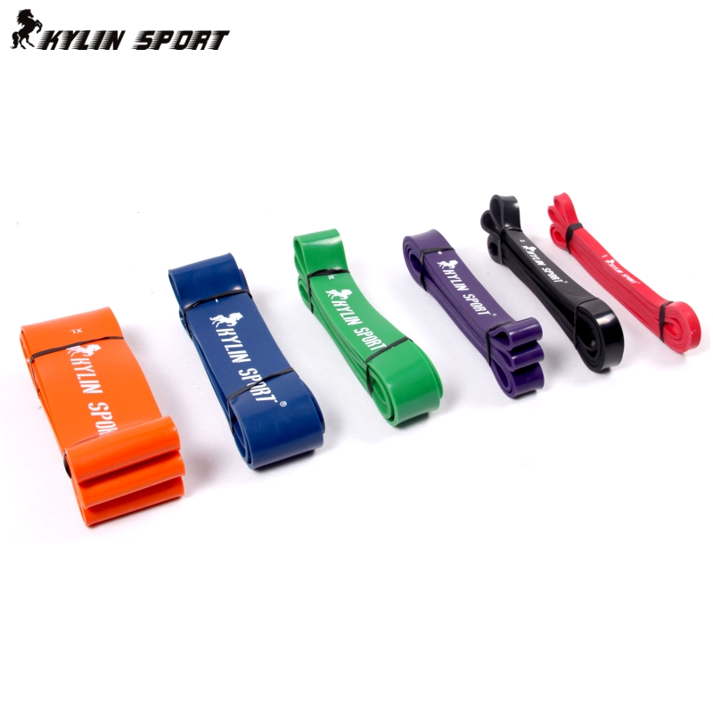 Rubber Stretch Yoga Resistance Band Exercise Loop Strength GYM Body building fitness equipment women gym - DIDI IPstore store