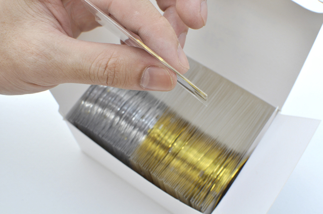 Free Shipping 25pcs Gold Color + 25pcs Silver Color Striping Tape Metallic Yarn Line Nail Art Decoration Sticker