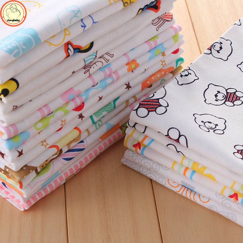 4pcs/lot newborn baby bed sheet bedding set Receiving Blankets 80x80cm for newborn crib sheets cheap cot 100% cotton blanket<br><br>Aliexpress