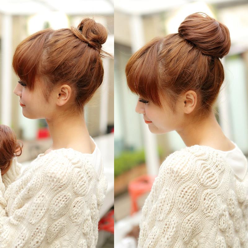 The ball head Bao Baotou wig hair hair wig wholesale pull rope buckle type(China (Mainland))