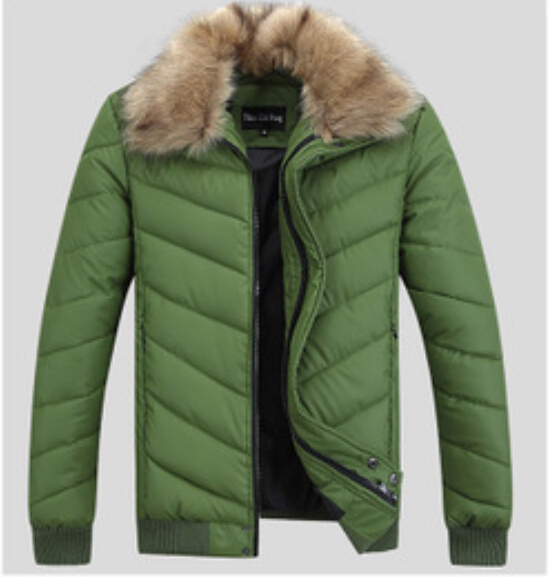Chaqueta Hombre Fur Collar Down Jacket Men Waterproof Thick Jacket Brand Winter Coat Men Casual Outdoors