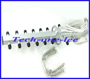 Free shipping 12DB 1990-2170 MHz 3G Yagi Antenna N female connector For 3G wireless card