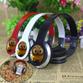 Best gift Cartoon Anime headhand Earphone despicable Me Minions 3 5mm Headphones For iPhone samsung MP3