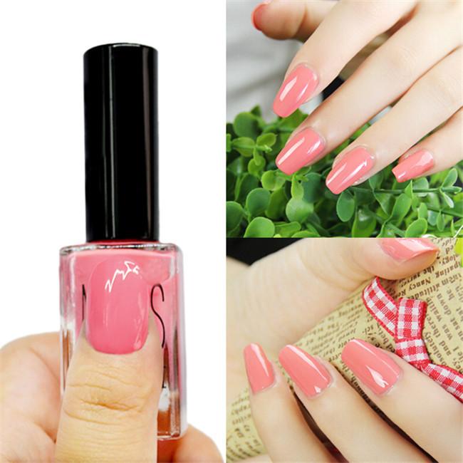 Wholesale Newly 1 Bottle 15ml Sweet Candy Pink Nail Art Polish Nail ...