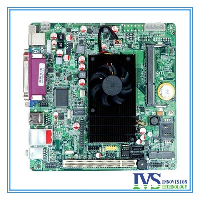 Atom D525 mini itx mainboard for industrial computer/ POS / Integrated computer moterboard  1.8GHz<br><br>Aliexpress