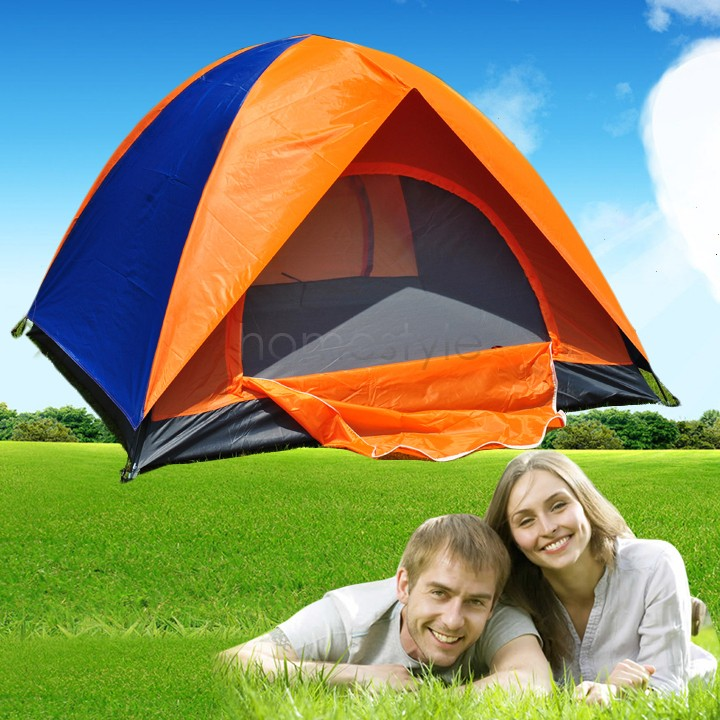 America Domestic Delivery ! 2015 Folding Waterproof Tent 2-3 Person Outdoor Camping Tent Tourist Camouflage Hiking Tents 30(China (Mainland))