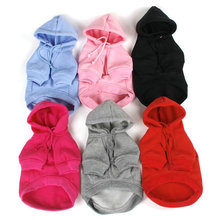 Buy Hot New Warm Pet Dogs Hoodie Coat Clothes Puppy Cat Clothing Costume Jacket 7 Size H1 for $3.00 in AliExpress store