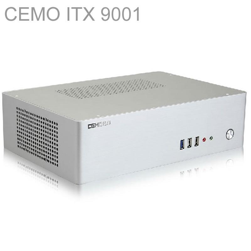 HTPC ITX Mini case with 300W Power, USB3.0, 3.5 HDD, 2 PCI slots, aluminum computer case, mini computer, Multimedia, CEMO 9001<br><br>Aliexpress