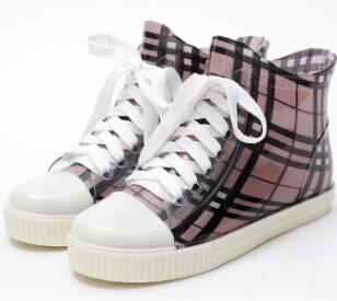 Women Fashion Rain boots waterproof non-slip rubber rain shoes high quality cute girl rain boots(China (Mainland))