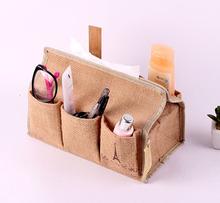 Zakka модели взрыва хлопка хранения ткани ткани накачки многофункциональный главная журнальный столик ящик для хранения ткань хранения