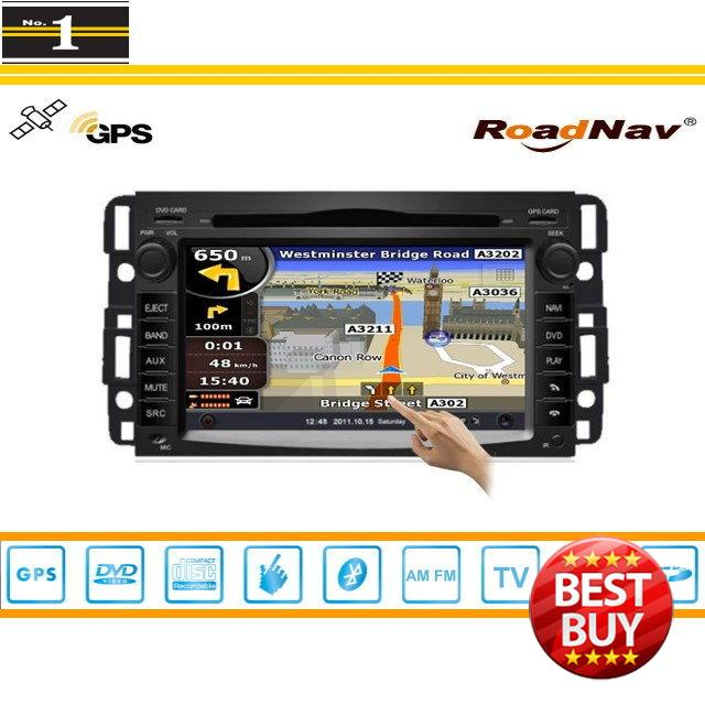 For GMC Acadia 2006-2011 - Indash GPS Navigation DVD Player Radio Stereo TV BT iPod 3G WIFI 1080P S100 Multimedia System(China (Mainland))