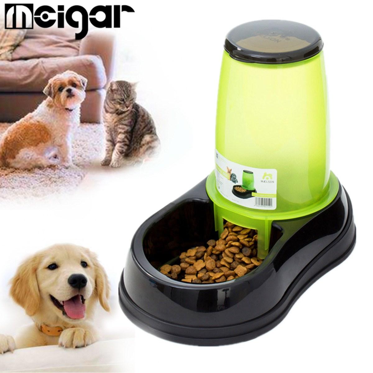 Compra autom tico dispensador de comida para mascotas for Dispensador de comida para perros