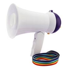 New Stylish Best Price Mini Portable Megaphone Foldable Bullhorn Handheld Grip Loud Clear Voice Amplifier Loudspeaker(China (Mainland))