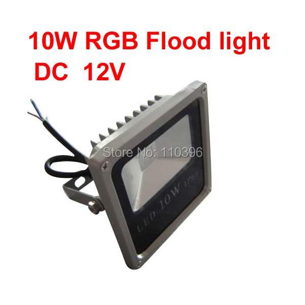 led exterior color changing rgb 10w 12 volt led flood lights outdoor