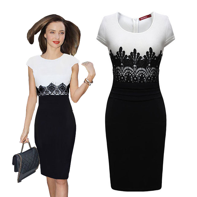Promotion Dresses Women Empire Vintage Bodycon Dress Patchwork Crochet Lace Fitted Midi Dress American Apparel Vestidos Casuales(China (Mainland))