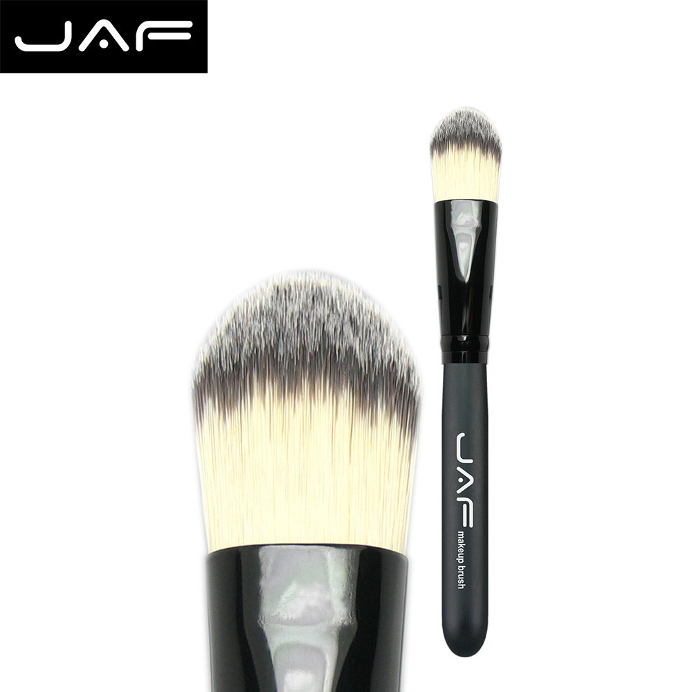 Wholesale 12x duo fiber foundation brush Makeup brush Tools make up brushes supplier makeup pincel free shipping 12STF(China (Mainland))