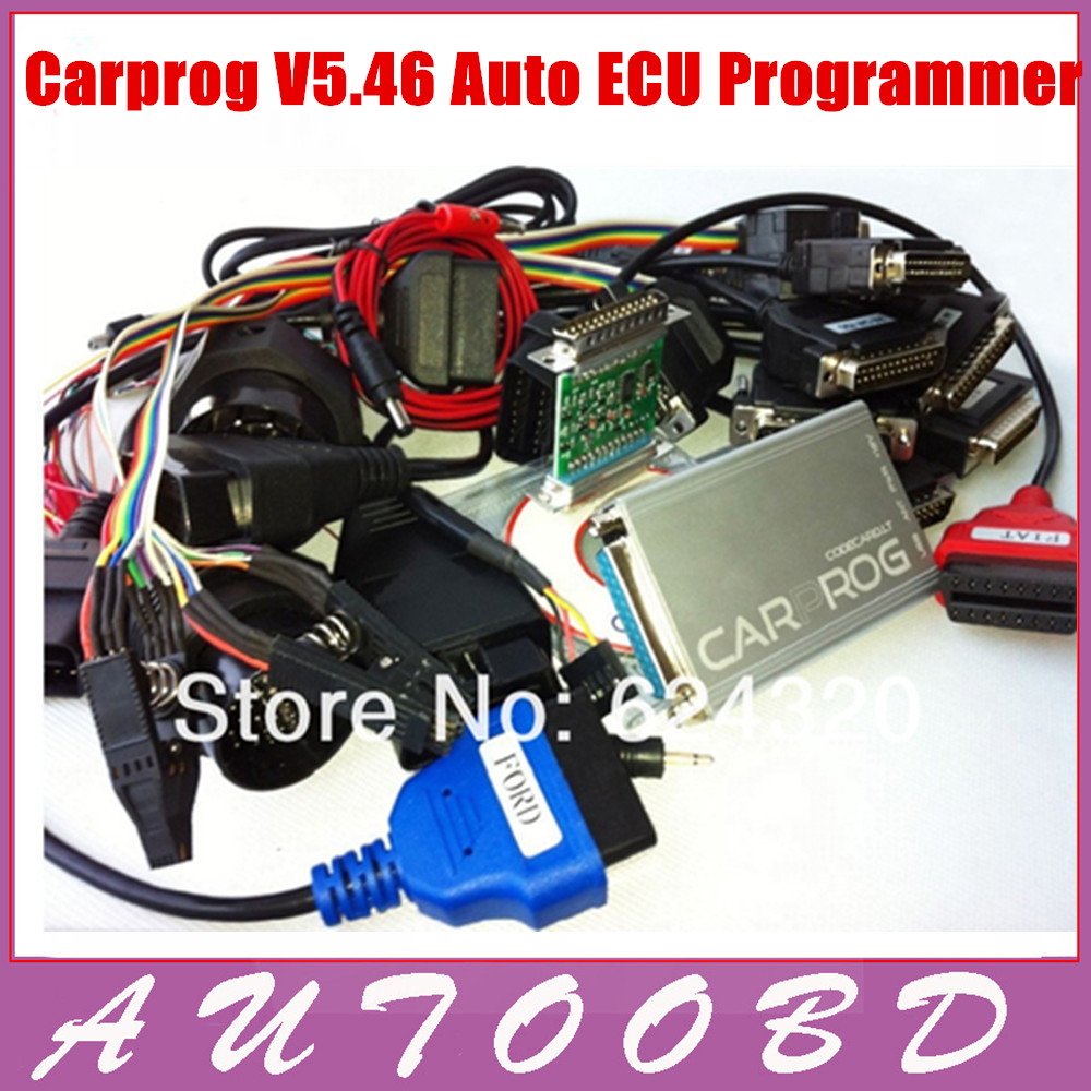 2013Hot Wholesales! CARPROG V4.1Full programmer with softwares activated and all 21adapters(radios,odometers,dashboardsr)<br><br>Aliexpress