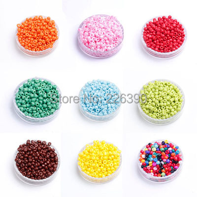 Pick Colors 50Gram/lot (Approx.3200pcs) 2.5mm Crystal Glass Czech Seed Spacer Loose Round Beads Beading Fit For jewelry DY Y891(China (Mainland))