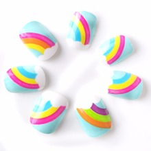 Buy 2016 New Arrival Rainbow Children False Nails Cloud Kid Fake Nails 5 Sizes 20 Pcs Pre-glue Press Fake Nails Tips for $2.17 in AliExpress store