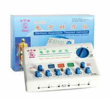 Бытовые HuaTuo/Hwato SDZ-II Электронный Иглоукалывание Стимулятор 6 Каналов Выхода Нервных и Мышечных Здравоохранения Массажер
