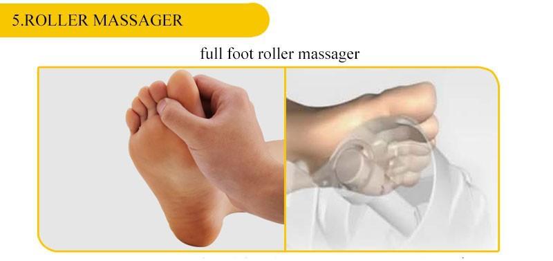 Shiatsu Rolling Foot Massager,Health Care Blood Circulation Reflexology Far Infrared Foot Massager Electric Roller Machine 50030 cheap
