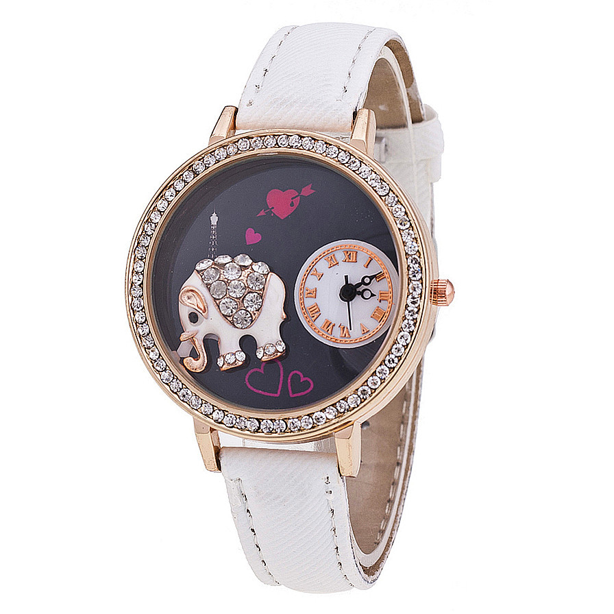 Buy New Style Clay Elephant Watch Women Quartz Watches Fashion Casual Watches