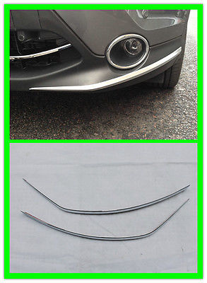 Nissan Qashqai 2014 2015 Front Side bumper protector grille guide cover trim - SUV Decoration store